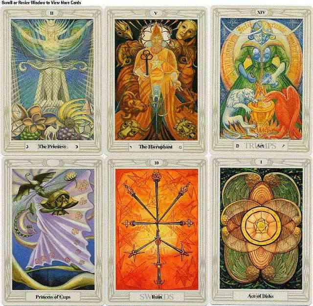 Thoth Tarot - Bộ Bài Cổ Điển