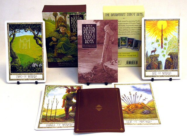 Druidcraft Tarot - Bộ Bài Về Chủ Đề Thiên Nhiên