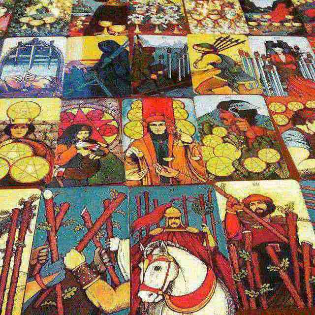 Morgan Greer Tarot – Bộ Bài Tarot Không Viền Đầu Tiên Thế Giới