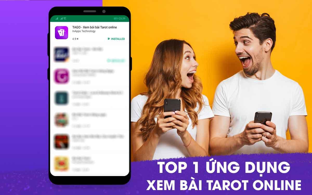 Chúc mừng TAGO - Top 1 ứng dụng xem bói bài tarot online