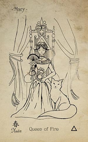 13-Queen-of-wands-EkoLand-TAGO