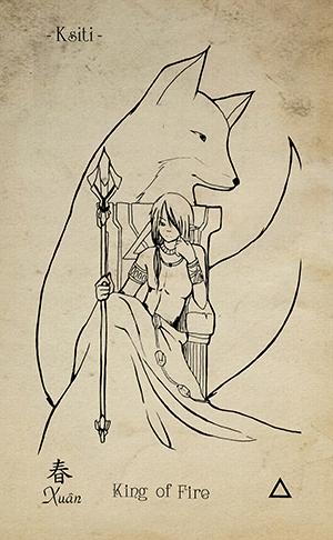 14-King-of-wands-EkoLand-TAGO