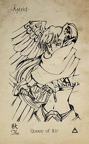 13-Queen-of-swords-EkoLand-TAGO