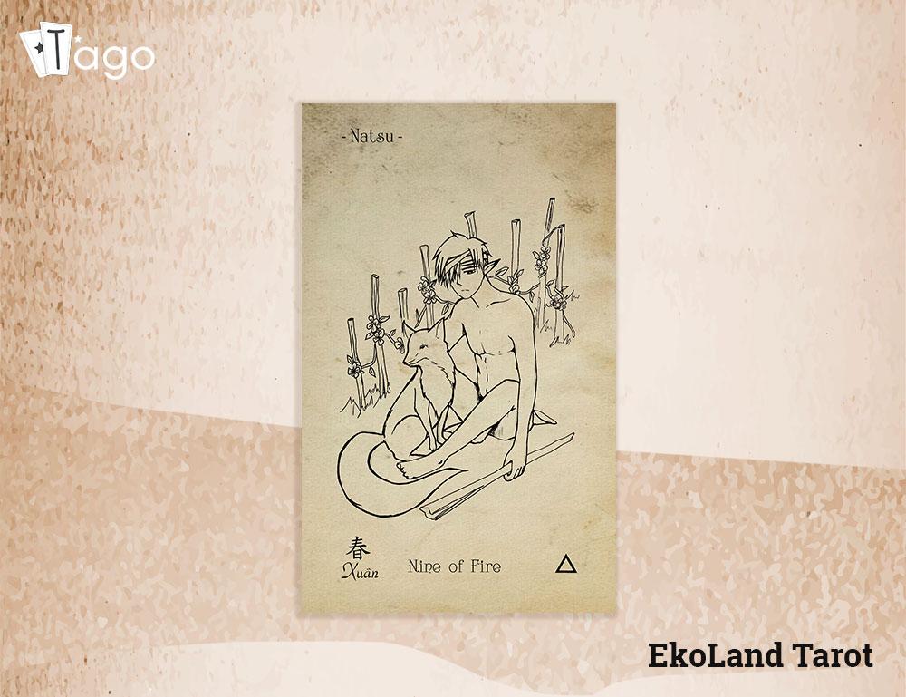 TAGO-No-Info-Bai-Tarot-Nine-of-wands